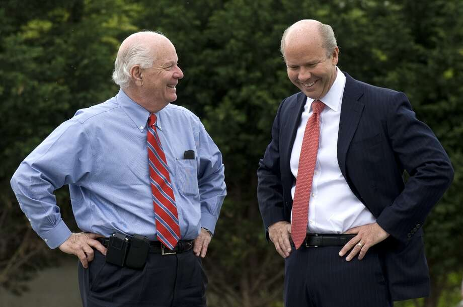 4. John K. Delaney, D-Md., (at right) has a net worth between $65,151,162 and $244,051,998.  His average net worth is at $154,601,580. Photo: Photo By Katherine Frey/The Washington Post , The Washington Post/Getty Images