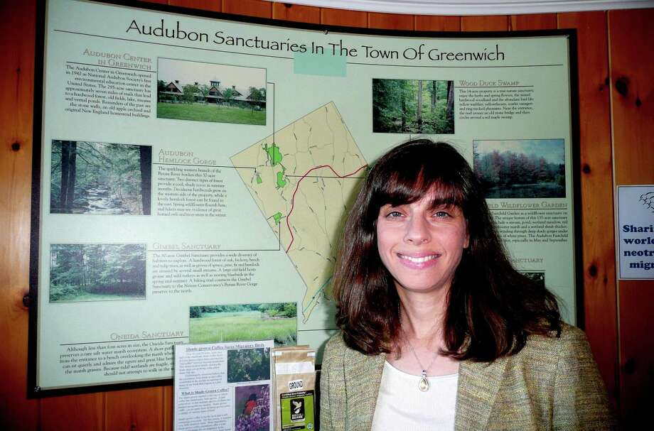 New Audubon Greenwich Director Michelle Frankel envisions Audubon as  âÄúa meeting place for the local community, a hands-on and minds-on exploration space, a place for volunteering and habitat restoration and citizen science, a base for grass-roots advocacy.âÄù Photo: Anne W. Semmes / Greenwich Citizen