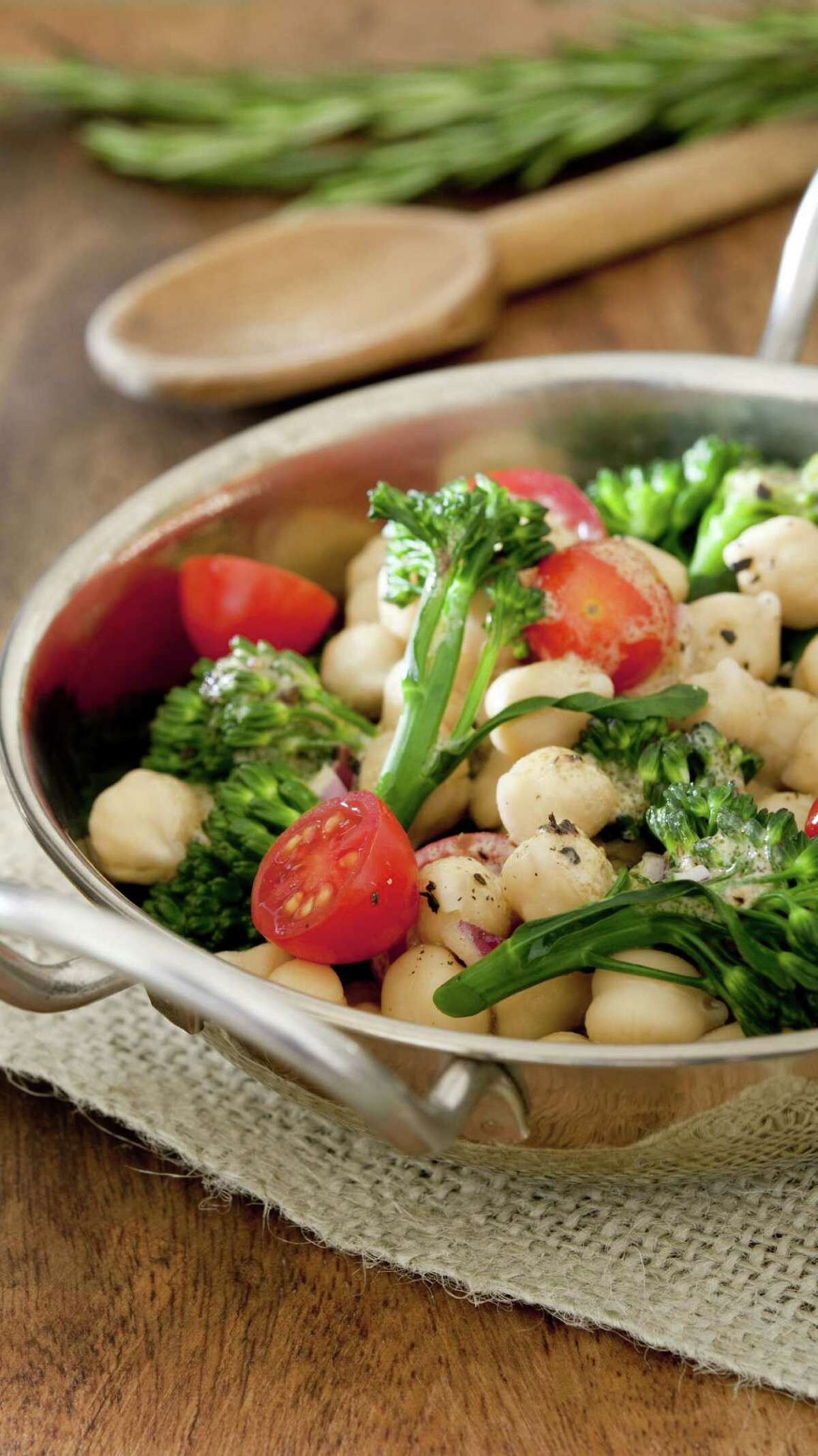 A plant-based diet can help fight inflammation.