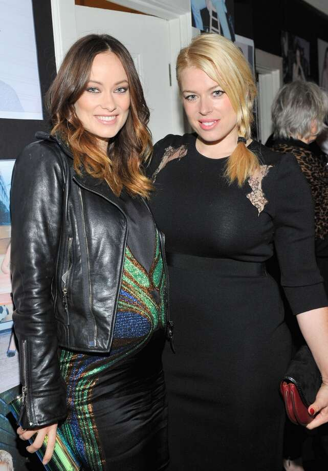 "Actress Olivia Wilde and photographer/actress Amanda De Cadenet attend the W Magazine celebration of The ""Best Performances"" Portfolio and The Golden Globes with Cadillac and Dom Perignon at Chateau Marmont on January 9, 2014 in Los Angeles, California. Photo: Donato Sardella, Getty Images For W Magazine"