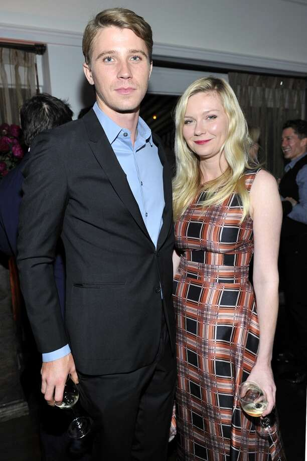 "Actor Garrett Hedlund (L) and actress Kirsten Dunst attend the W Magazine celebration of The ""Best Performances"" Portfolio and The Golden Globes with Cadillac and Dom Perignon at Chateau Marmont on January 9, 2014 in Los Angeles, California. Photo: Donato Sardella, Getty Images For W Magazine"