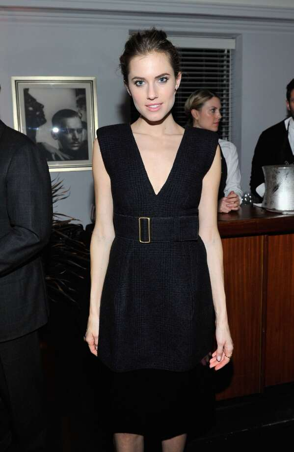 "Actress Allison Williams attends the W Magazine celebration of The ""Best Performances"" Portfolio and The Golden Globes with Cadillac and Dom Perignon at Chateau Marmont on January 9, 2014 in Los Angeles, California. Photo: Donato Sardella, Getty Images For W Magazine"