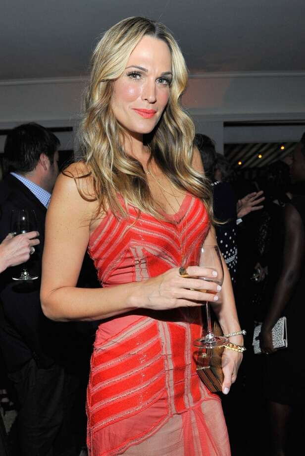"Model Molly Sims attends the W Magazine celebration of The ""Best Performances"" Portfolio and The Golden Globes with Cadillac and Dom Perignon at Chateau Marmont on January 9, 2014 in Los Angeles, California. Photo: Donato Sardella, Getty Images For W Magazine"