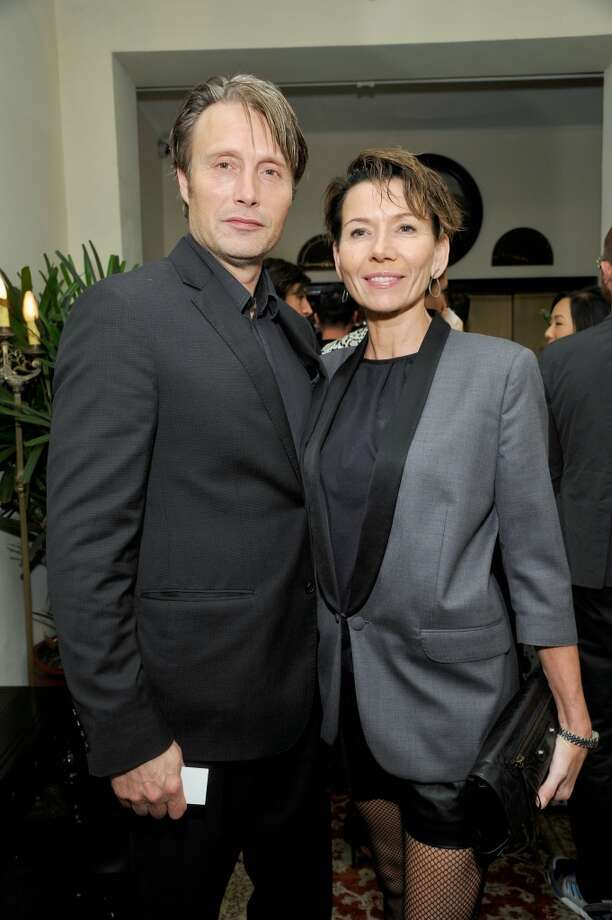 "Actor Mads Mikkelsen and Hanne Jacobsen attend the W Magazine celebration of The ""Best Performances"" Portfolio and The Golden Globes with Cadillac and Dom Perignon at Chateau Marmont on January 9, 2014 in Los Angeles, California. Photo: John Sciulli, Getty Images For W Magazine"