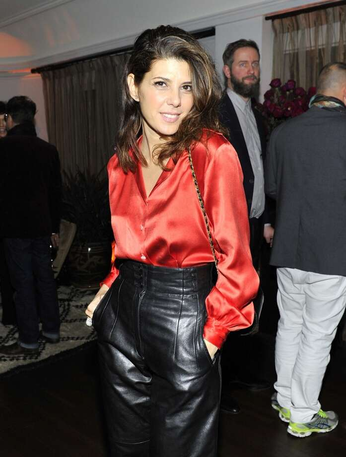 "Actress Marisa Tomei attends the W Magazine celebration of The ""Best Performances"" Portfolio and The Golden Globes with Cadillac and Dom Perignon at Chateau Marmont on January 9, 2014 in Los Angeles, California. Photo: Donato Sardella, Getty Images For W Magazine"