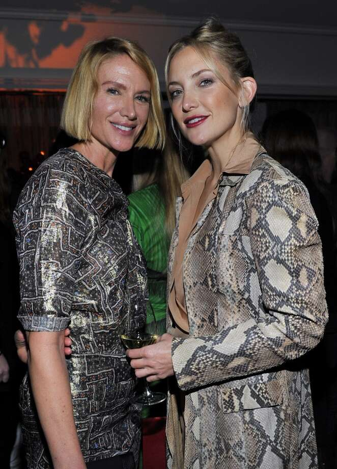"Actress Kelly Lynch (L) and actress Kate Hudson attend the W Magazine celebration of The ""Best Performances"" Portfolio and The Golden Globes with Cadillac and Dom Perignon at Chateau Marmont on January 9, 2014 in Los Angeles, California. Photo: Donato Sardella, Getty Images For W Magazine"