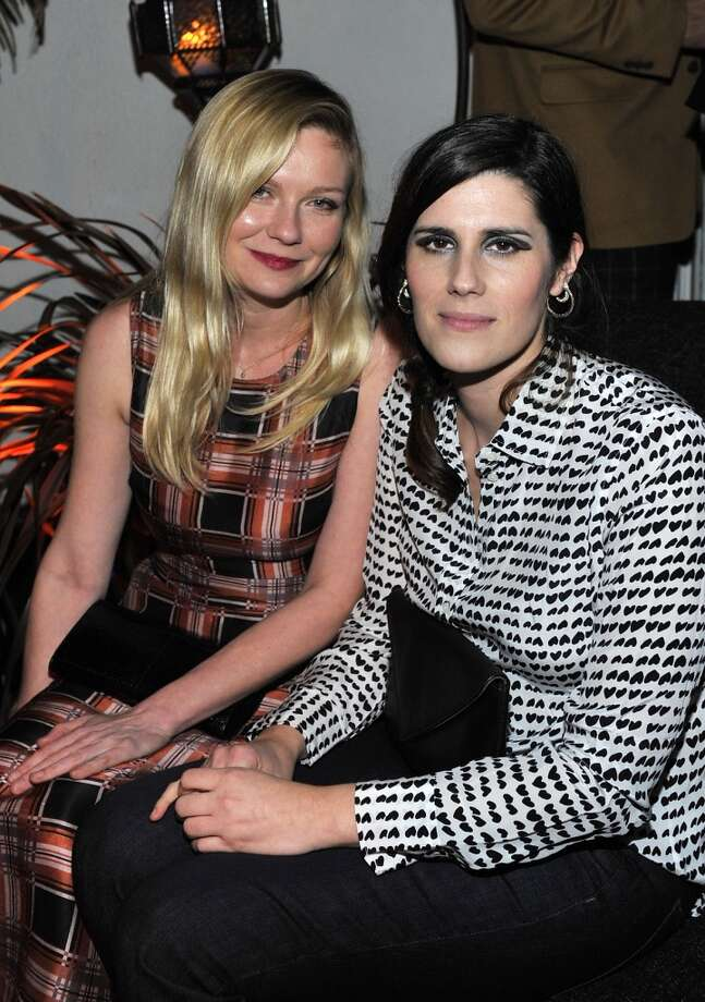"Actress Kirsten Dunst and designer Laura Mulleavy attend the W Magazine celebration of The ""Best Performances"" Portfolio and The Golden Globes with Cadillac and Dom Perignon at Chateau Marmont on January 9, 2014 in Los Angeles, California. Photo: Donato Sardella, Getty Images For W Magazine"