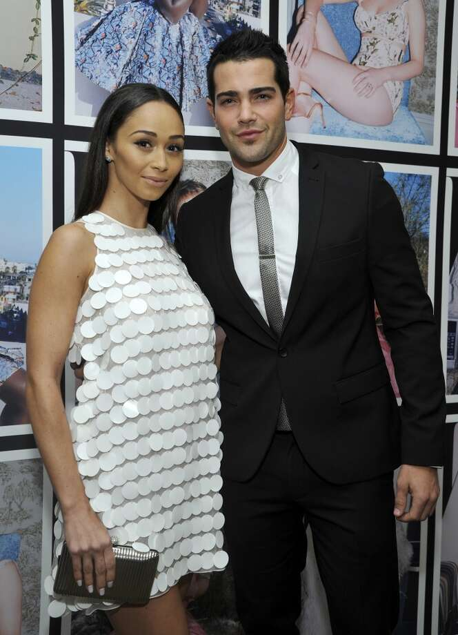 "Actress Cara Santana (L) and actor Jesse Metcalfe attend the W Magazine celebration of The ""Best Performances"" Portfolio and The Golden Globes with Cadillac and Dom Perignon at Chateau Marmont on January 9, 2014 in Los Angeles, California. Photo: John Sciulli, Getty Images For W Magazine"