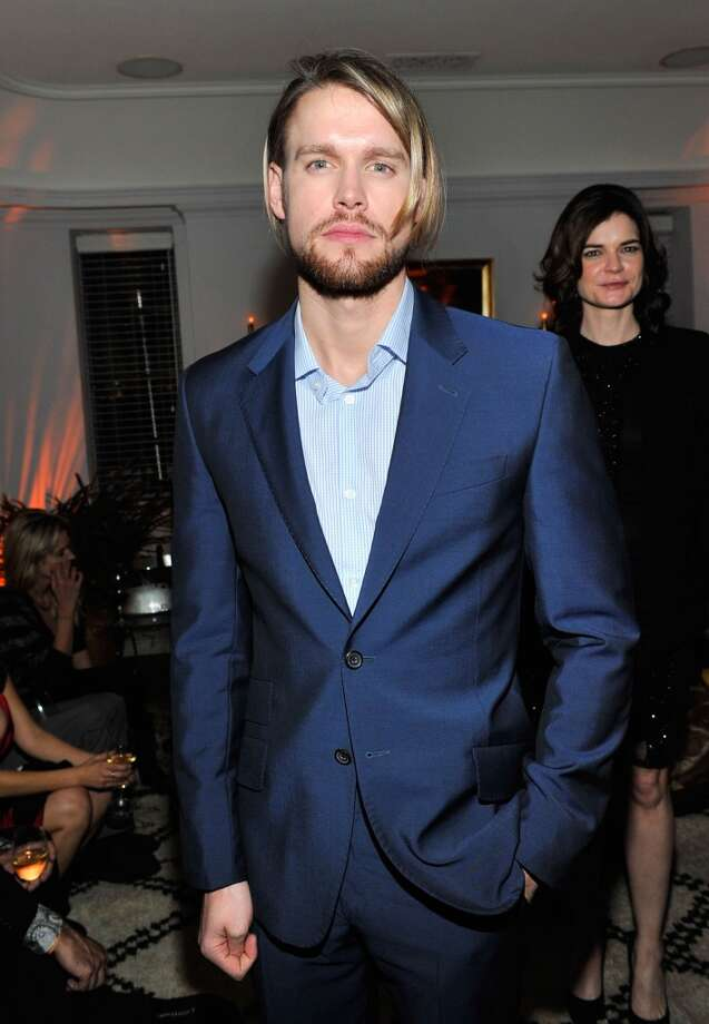 "Actor Chord Overstreet attends the W Magazine celebration of The ""Best Performances"" Portfolio and The Golden Globes with Cadillac and Dom Perignon at Chateau Marmont on January 9, 2014 in Los Angeles, California. Photo: Donato Sardella, Getty Images For W Magazine"
