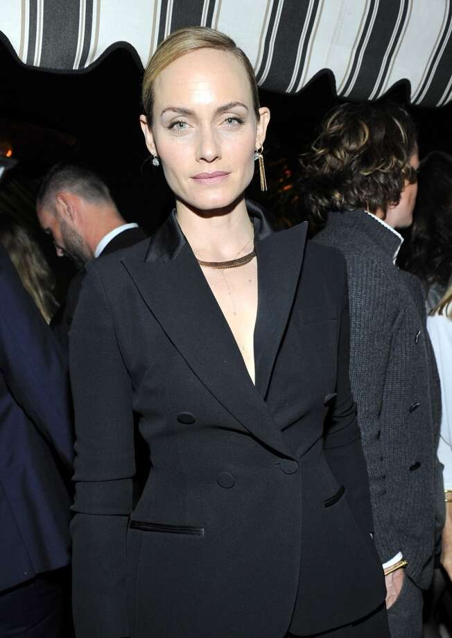 "Actress Amber Valletta attends the W Magazine celebration of The ""Best Performances"" Portfolio and The Golden Globes with Cadillac and Dom Perignon at Chateau Marmont on January 9, 2014 in Los Angeles, California. Photo: Donato Sardella, Getty Images For W Magazine"