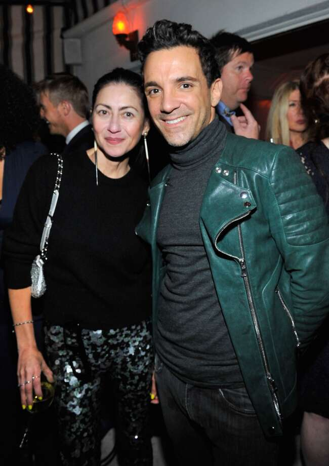 "Magda Berliner and TV personality/stylist George Kotsiopoulos attend the W Magazine celebration of The ""Best Performances"" Portfolio and The Golden Globes with Cadillac and Dom Perignon at Chateau Marmont on January 9, 2014 in Los Angeles, California.  (Photo by Donato Sardella/Getty Images for W Magazine) Photo: Donato Sardella, Getty Images For W Magazine"