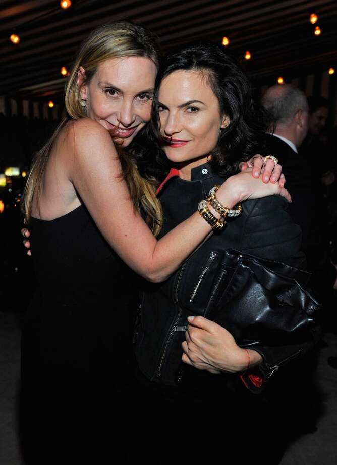 "LOS ANGELES, CA - JANUARY 09:  Jacqui Getty and Rosetta Getty attend the W Magazine celebration of The ""Best Performances"" Portfolio and The Golden Globes with Cadillac and Dom Perignon at Chateau Marmont on January 9, 2014 in Los Angeles, California. Photo: Donato Sardella, Getty Images For W Magazine"