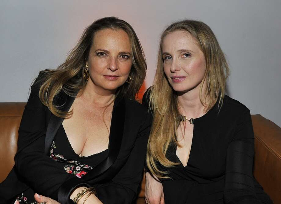 "Head of PR at Armani Wanda McDaniel and actress Julie Delpy attend the W Magazine celebration of The ""Best Performances"" Portfolio and The Golden Globes with Cadillac and Dom Perignon at Chateau Marmont on January 9, 2014 in Los Angeles, California. Photo: Donato Sardella, Getty Images For W Magazine"