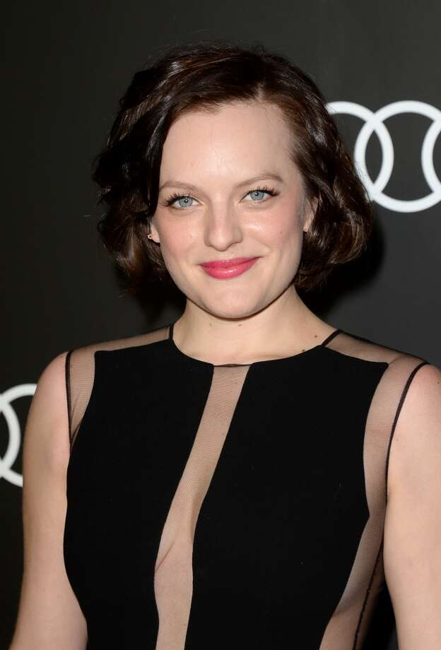 Actress Elisabeth Moss attends Golden Globes Weekend Audi Celebration at Cecconi's on January 9, 2014 in Beverly Hills, California. Photo: Jason Merritt, Getty Images For Audi
