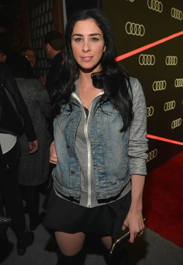 Actress Sarah Silverman attends Golden Globes Weekend Audi Celebration at Cecconi's on January 9, 2014 in Beverly Hills, California. Photo: Charley Gallay, Getty Images For Audi