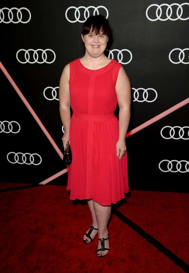 Actress Jamie Brewer attends Golden Globes Weekend Audi Celebration at Cecconi's on January 9, 2014 in Beverly Hills, California. Photo: Jason Merritt, Getty Images For Audi