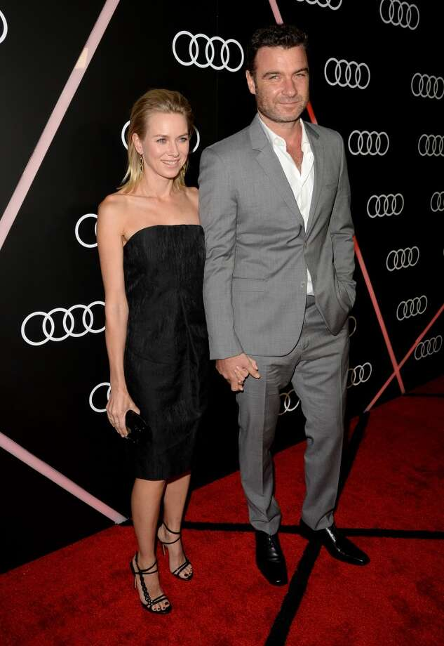 Actress Naomi Watts and actor Liev Schreiber attend Golden Globes Weekend Audi Celebration at Cecconi's on January 9, 2014 in Beverly Hills, California. Photo: Jason Merritt, Getty Images For Audi