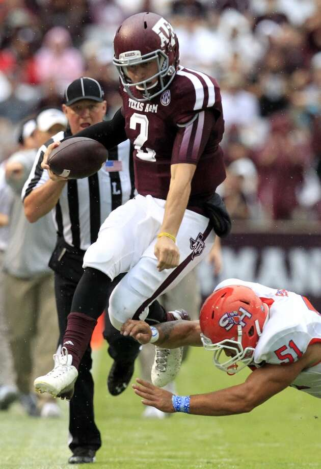 Johnny Manziel  Position: Quarterback  School: Texas A&M Photo: Cody Duty, Houston Chronicle