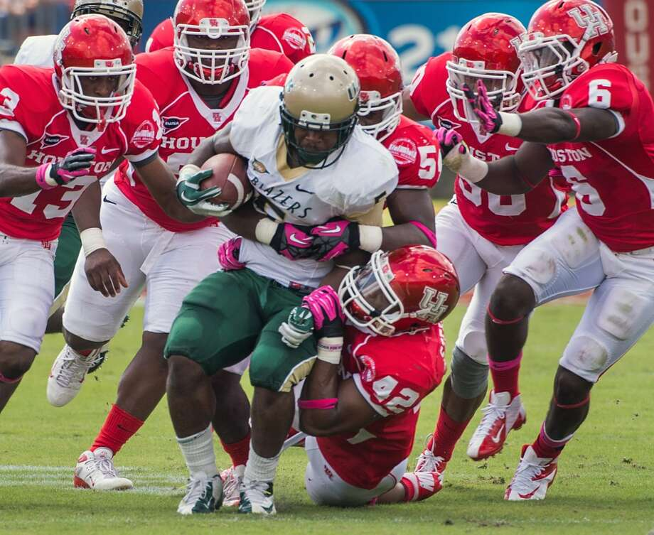 Darrin Reaves  Position: Running back  School: UAB Photo: Smiley N. Pool, Houston Chronicle