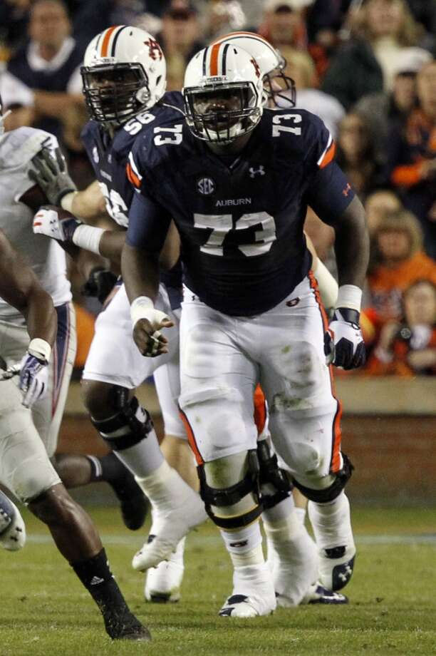 Greg Robinson  Position: Left tackle  School: Auburn Photo: Butch Dill, Associated Press
