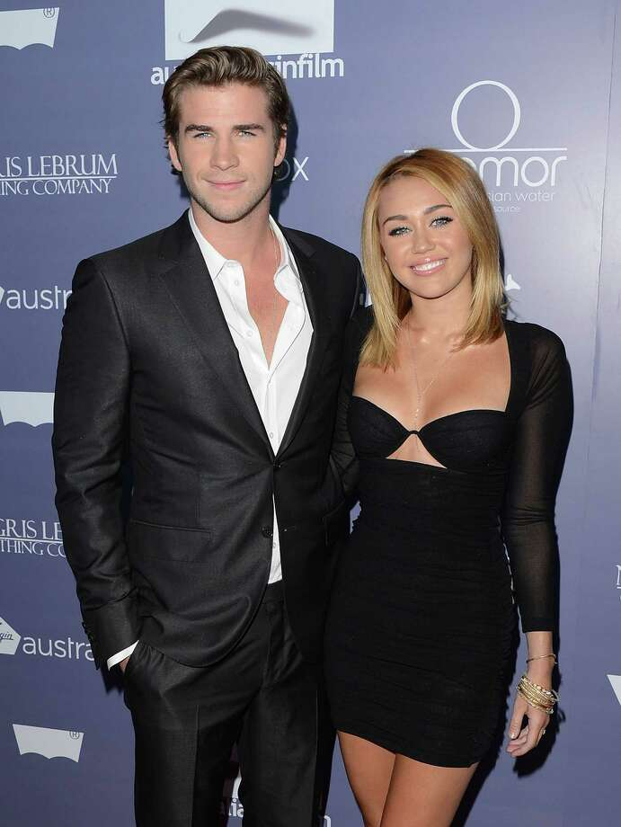 Actors Liam Hemsworth and Miley Cyrus got engaged very young, but never walked down the aisle. The pair split up in 2013. Photo: Jason Merritt, Getty Images For AIF / 2012 Getty Images