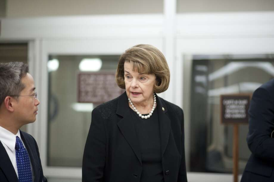 12. Dianne Feinstein, D-Calif., has an average net worth of $68,446,578, but the senator's net worth could range from $42,673,137 to $94,220,020.  She's the first of four Californians on this list... Photo: Douglas Graham