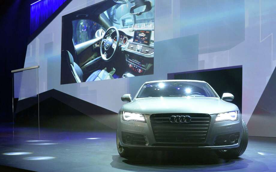 Audi is partnering with Google to bring the Web giant's services to cars that connect to 4G wireless signals. Photo: Jack Dempsey / Associated Press / FR42408 AP