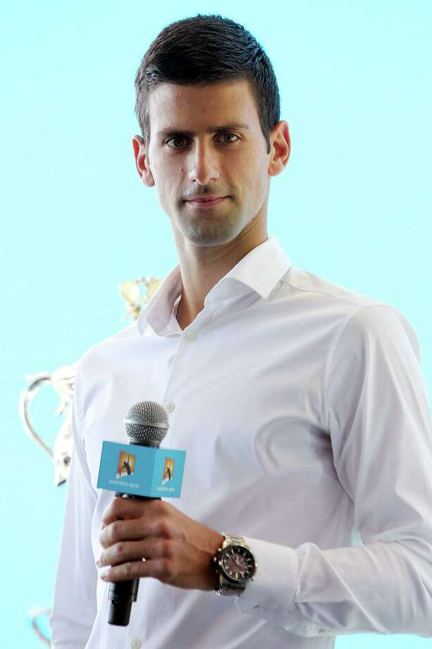 MELBOURNE, AUSTRALIA - JANUARY 10:  Novak Djokovic of Serbia looks on during the 2014 Australian Open official draw at Melbourne Park on January 10, 2014 in Melbourne, Australia.  (Photo by Graham Denholm/Getty Images) Photo: Graham Denholm, Stringer / 2014 Getty Images