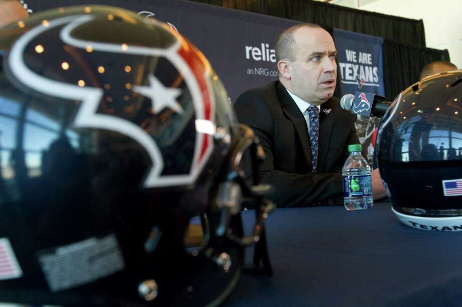 As an NFL rookie head coach, Bill O'Brien might be well-served by adding a former head coach or two to his Texans staff. Thus far, most of his hirings have been assistants from his stint at Penn State. Photo: Brett Coomer, Staff / © 2014  Houston Chronicle