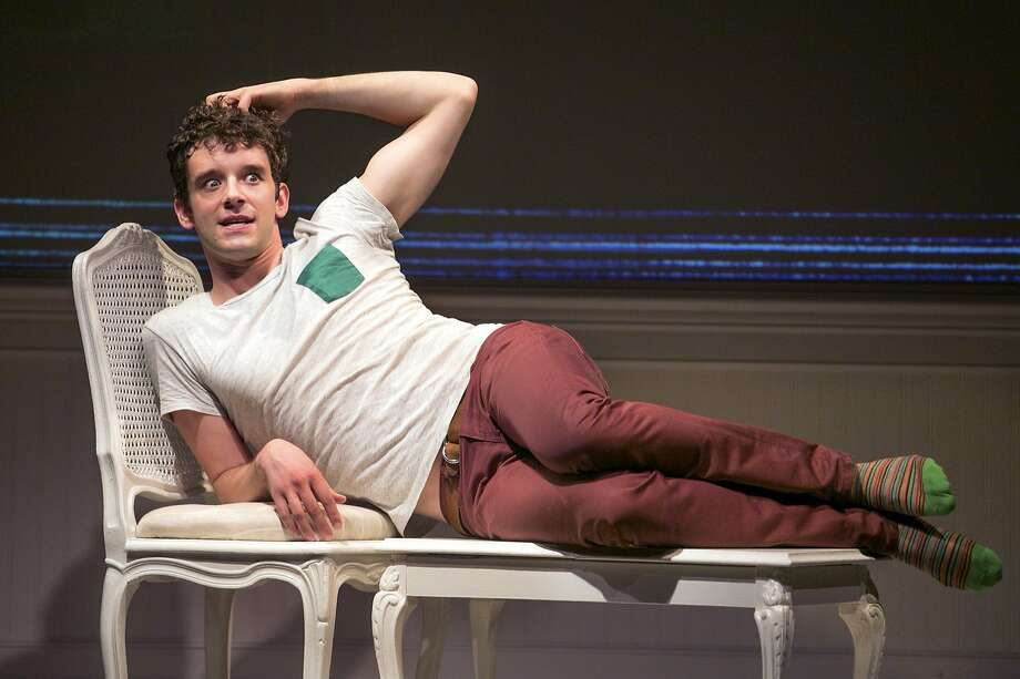 "Michael Urie, above, star of the one-man hit ""Buyer & Cellar,"" takes a vacation; understudy Clancy O'Connor takes his place. Photo: Sara Krulwich, New York Times"