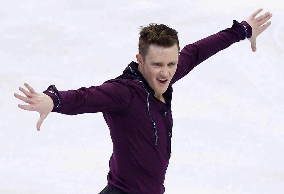 Jeremy Abbott registered a U.S.-record point total of 99.86 in his short program victory at the U.S. championships. The 28-year-old has the inside track to the country's top spot for Sochi. Photo: Jared Wickerham / Getty Images / 2014 Getty Images