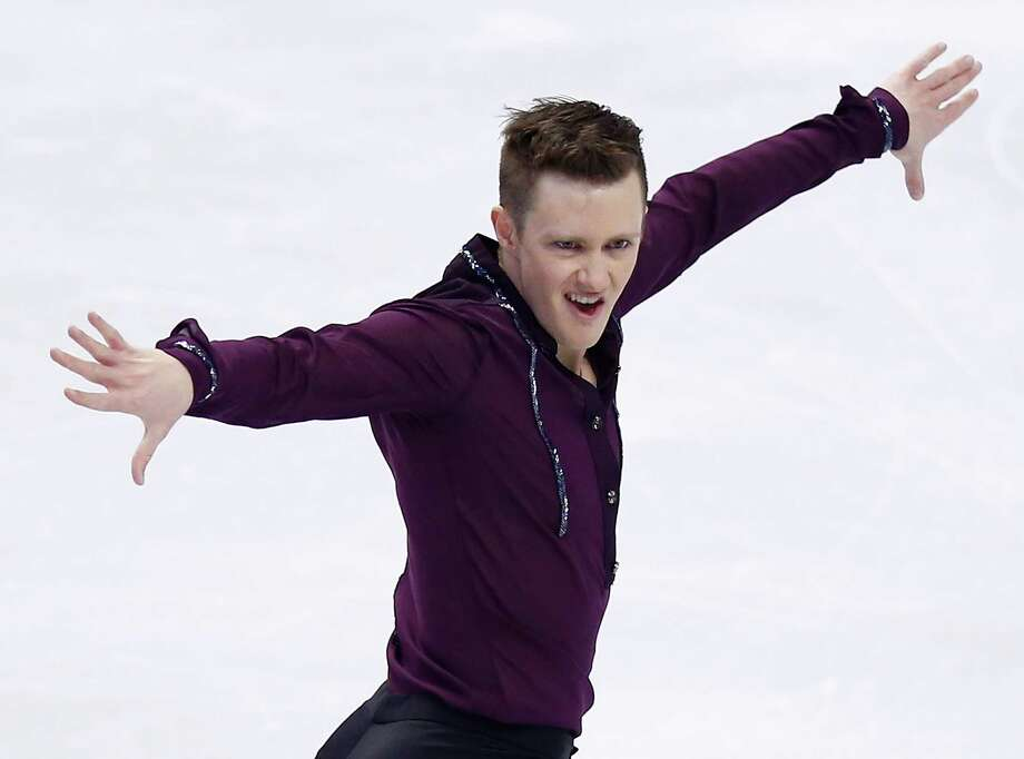 Jeremy Abbott, 28, is poised to become America's No. 1 contender at the Sochi Olympics. His short program Friday night earned 99.86 points for a U.S. record. Photo: Jared Wickerham, Staff / 2014 Getty Images