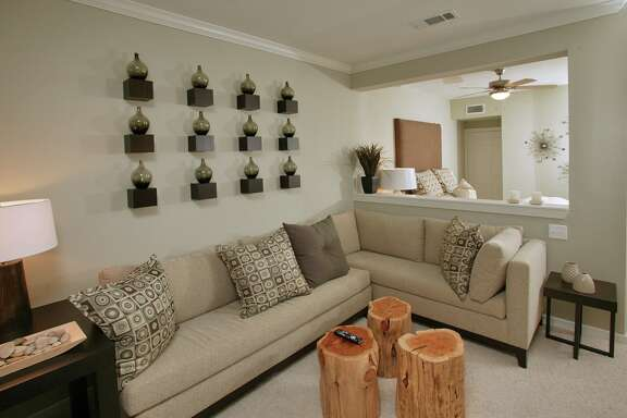 A 558-square-foot apartment in The Woodlands. Apartments could get smaller.