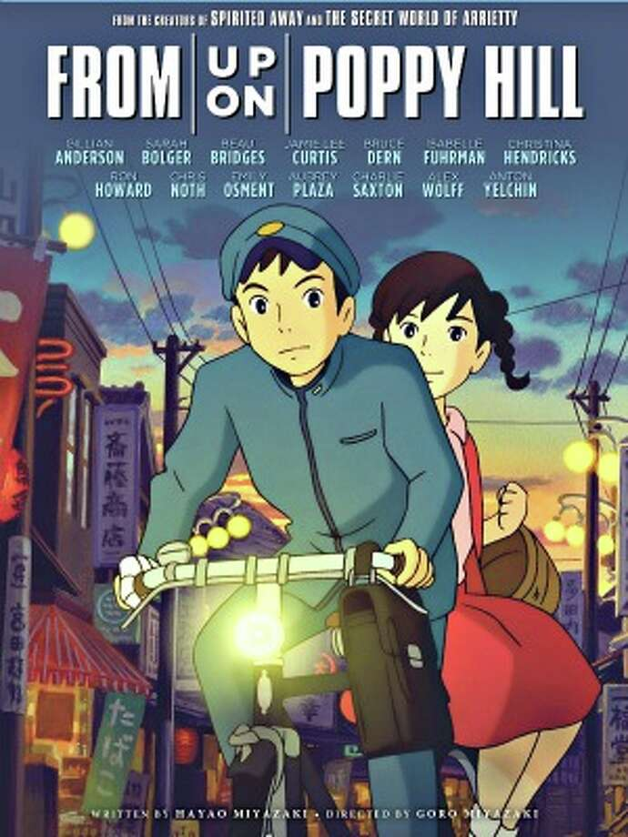 From up on Poppy Hill, 4 stars, on 9+, This inspiring, romantic story about teens set in the 1960s has the distinctive feel of Hayao Miyazaki, who wrote this movie while his son directed.