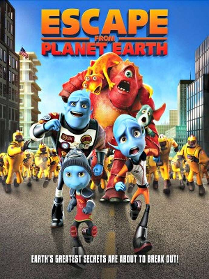 Escape from Planet Earth, 2 stars, 7+, With stereotypes, blatant product placement, and way more innuendo that parents would expect from an animated kids' movie, this loser really dropped the ball when it came to being entertaining, or appropriate.