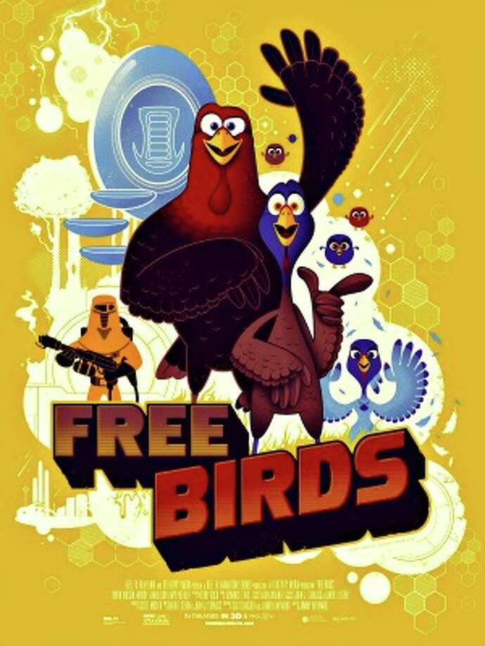 Free Birds, 2 stars, 6+, The turkeys were sort of cute, but after it was all over it was hard to remember anything that great about it, sort of like a turkey dinner.