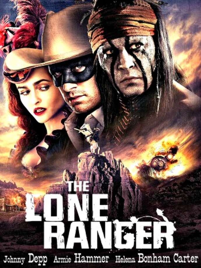 Lone Ranger, 2 stars, 13+. Hi-ho, what a flop! This big-budget summer movie based on the classic TV series bombed ina big way. It was too long, too boring, and Johnny Depp as Tonto made lots of people uncomfortable.
