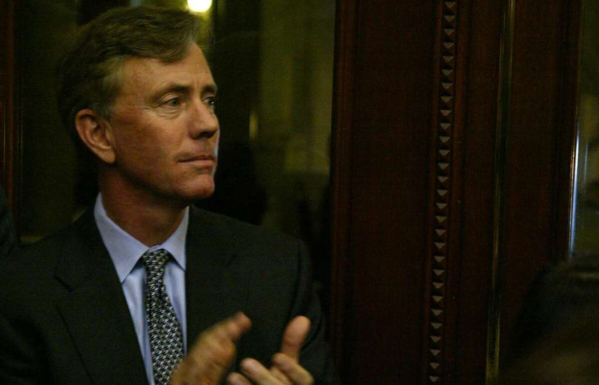Ned Lamont, a possible candidate for governor,applauds, Wednesday, Feb. 3, 2010, during the opening day of the 2010 Legislative Session at the Capital in Hartford.