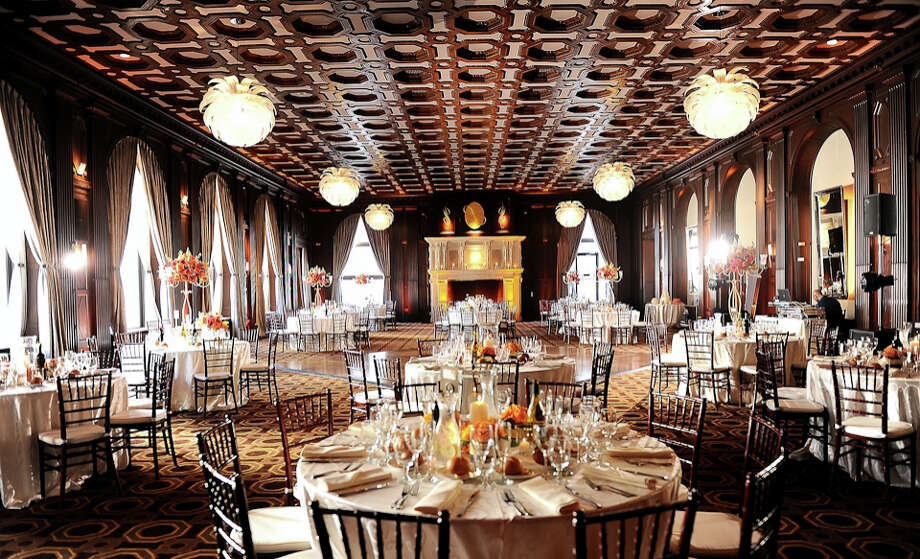 Another landmark San Francisco venue, the Julia Morgan Ballroom was designed in the Beaux Arts style by Morgan and Willis Polk after the 1906 earthquake. The massive space—you'll need quite a few guests to fill up the 4,100-square-foot room—is highlighted by a large fireplace and floor-to-ceiling windows with city views.