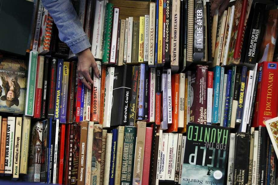 Books. Photo: Leah Millis, The Chronicle