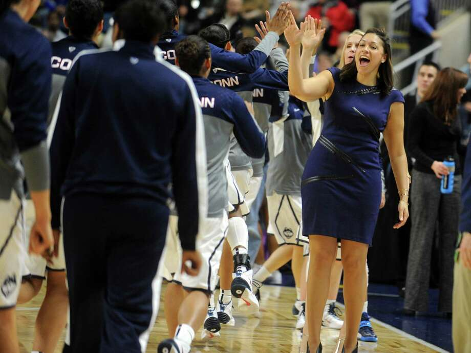 The UConn women's basketball team plays Temple University Saturday, Jan. 11, 2014 at the Webster Bank Arena in Bridgeport, Conn. Photo: Autumn Driscoll / Connecticut Post