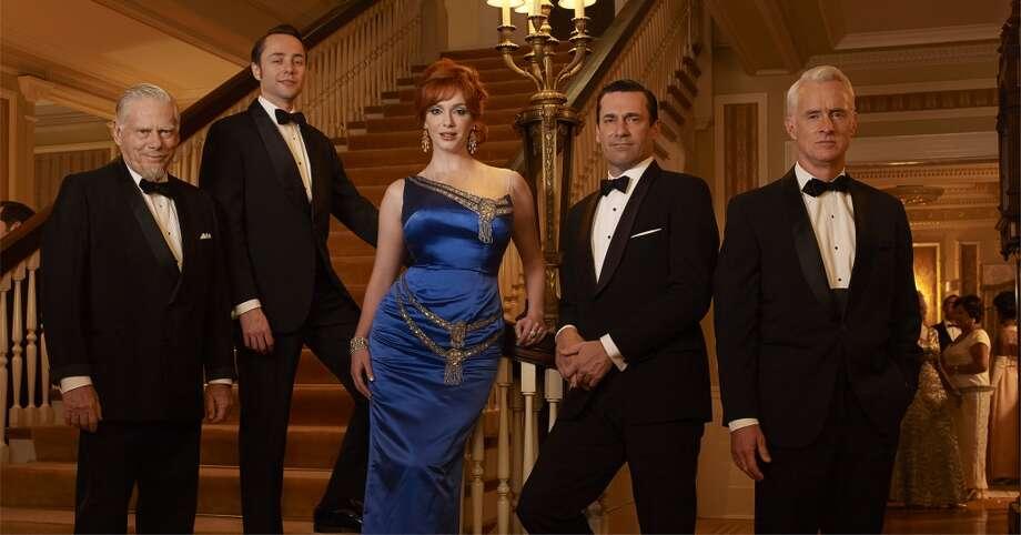 """Mad Men"" returns on AMC on April 13 at 9 p.m. Photo: Frank Ockenfels/AMC"