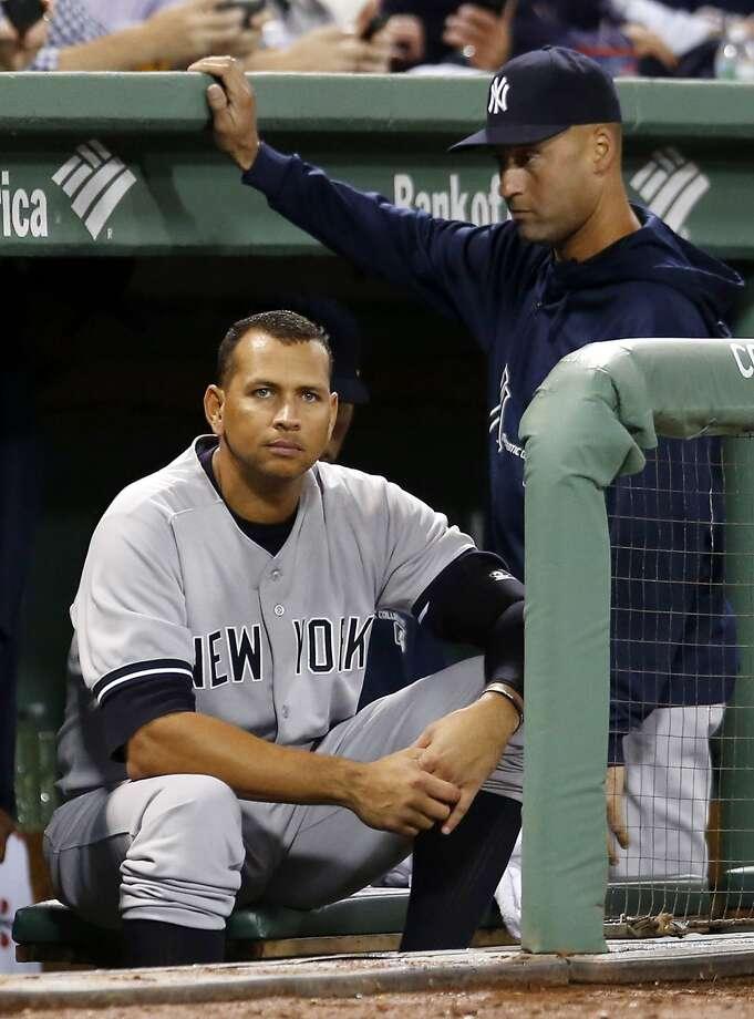 Alex Rodriguez, who is fifth on baseball's career home run list, denies MLB's claim he used PEDs. Photo: Elise Amendola, Associated Press