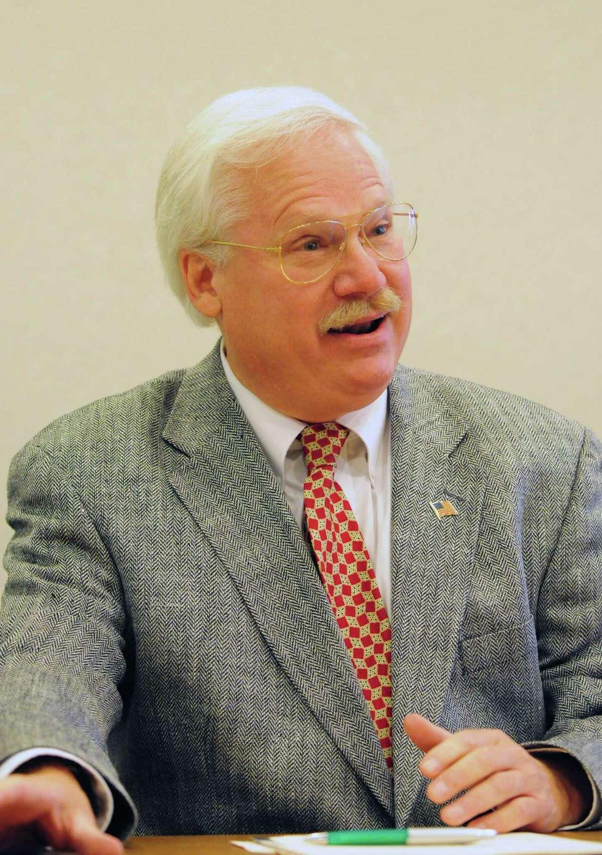 Albany County District 10 Legislator Gary W. Domalewicz (D) Tuesday, Aug. 27, 2013, in Colonie, N.Y. (Will Waldron/Times Union)