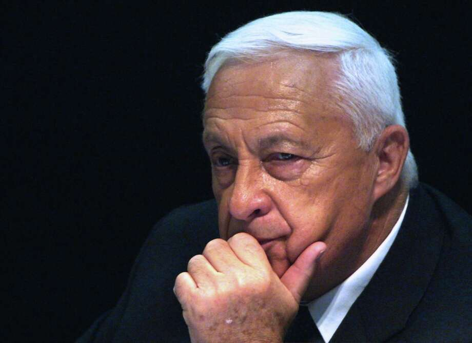 FILE -- Ariel Sharon, then Prime Minister of Israel, in Jerusalem in 2005. Sharon, who had been comatose for nearly eight years,  died on Jan. 11, 2014. He was 85. (Rina Castelnuovo/The New York Times) Photo: RINA CASTELNUOVO, STR / NYTNS
