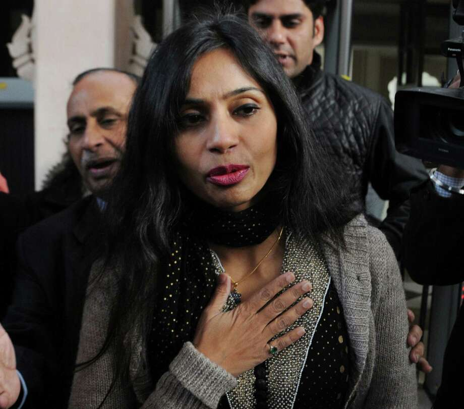 Indian diplomat Devyani Khobragade back in New Delhi is on her way to meet with Indian Minister for External Affairs Salman Khurshid on Saturday. Photo: For Getty Images / AFP