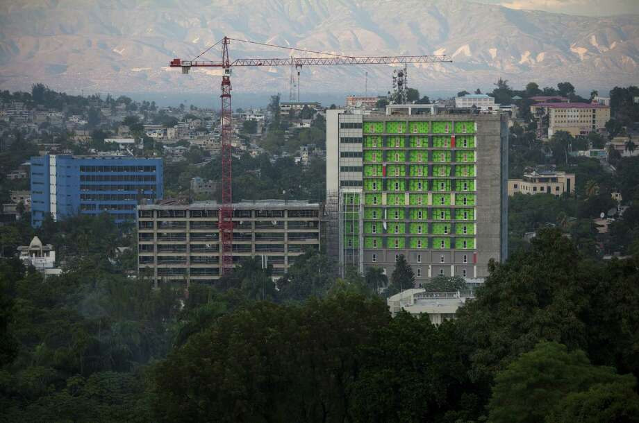Modern buildings in Haiti are being built to international seismic standards, but the quality still remains haphazard. Photo: Dieu Nalio Chery / Associated Press / AP