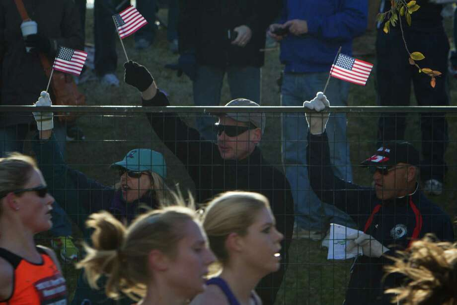 With the U.S. Olympic Trials being a part of Houston's marathon two years ago, organizers got a crash course in taking extra precautions for the race, so they believe they're ahead of the game after the Boston bombings. Photo: Smiley N. Pool, Staff / © 2012  Houston Chronicle