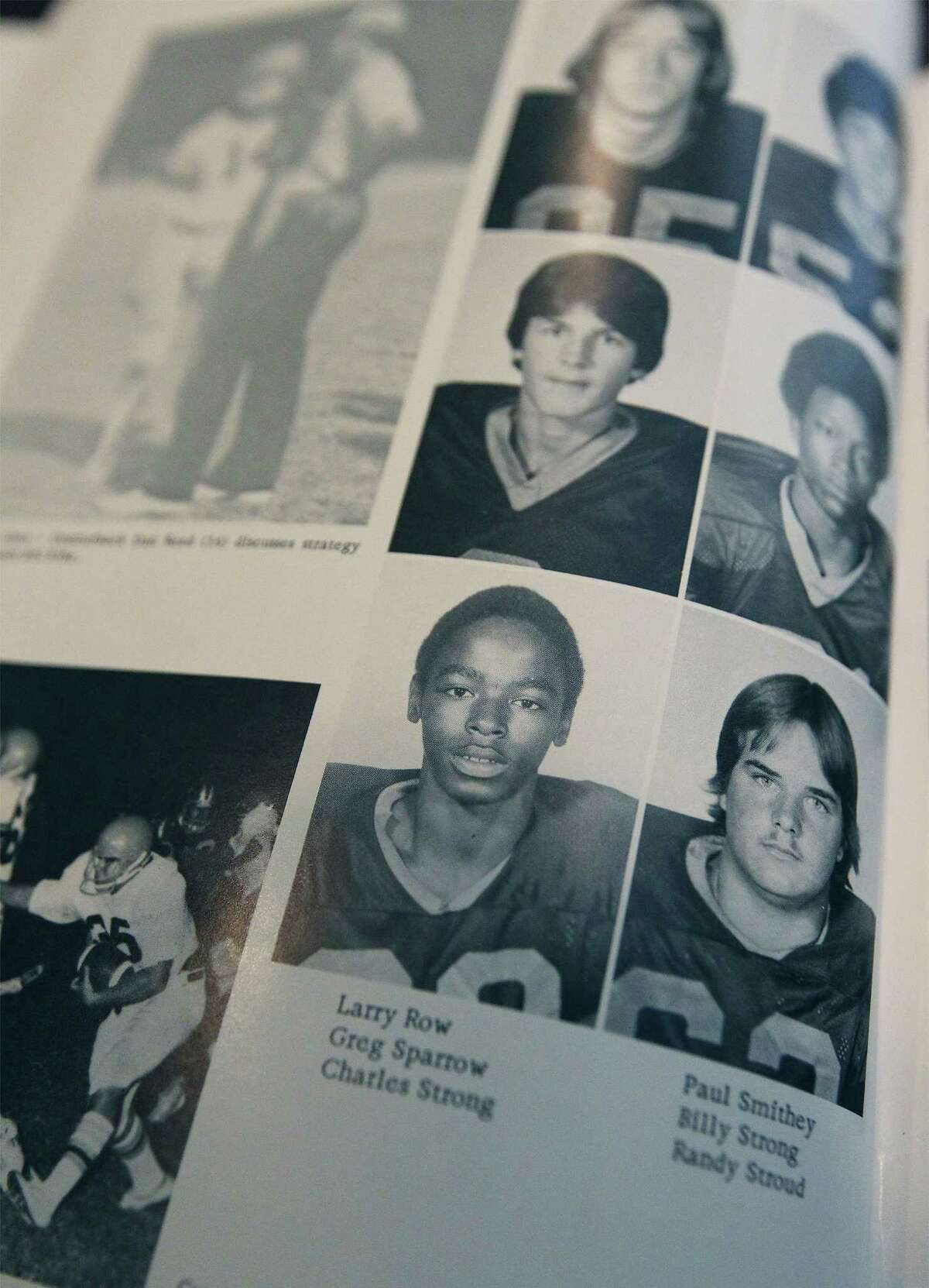 As a 5-3, 130-pound junior at Batesville High School, Charlie Strong relied on his speed and technique to play football.