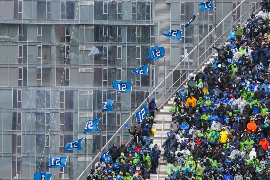 The wind howls as the Seattle Seahawks take on the New Orleans Saints during the NFC Divisional Playoff game on Saturday, January 11, 2014 at CenturyLink Field in Seattle. Photo: JOSHUA TRUJILLO, SEATTLEPI.COM